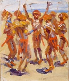 Dancing Kikuyu Warriors