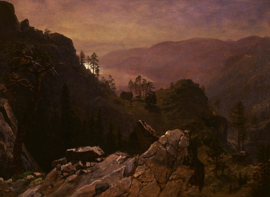 Dawn at Donner Lake