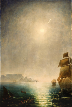 Daylight View over Table Bay Showing the Great Comet of 1843