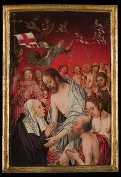 De verschijning van Christus aan Maria