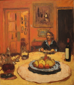 Dining Room, Rue de Naples, Paris