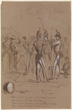 Dress Parade (from Sketchbook)