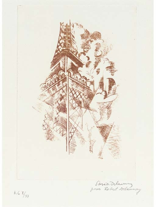 Eiffel Tower from Clefs des Pavés