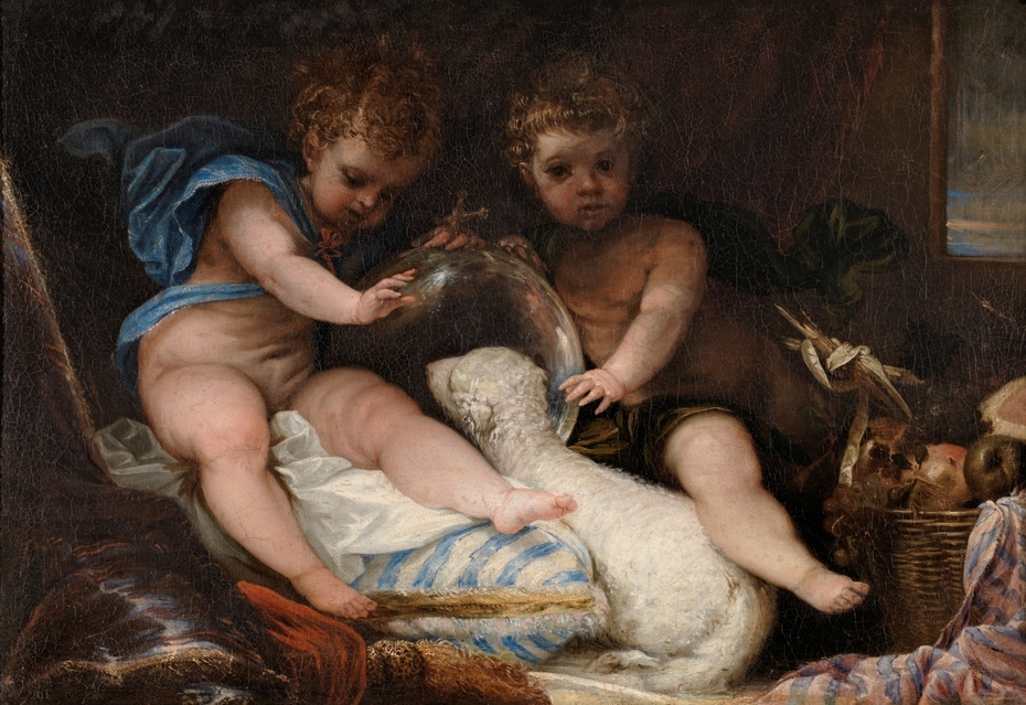 El Niño Jesús y San Juan
