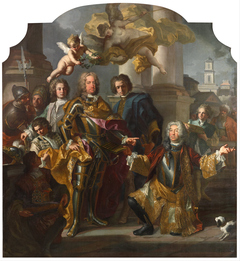 Emperor Charles VI and Gundacker, Count Althann