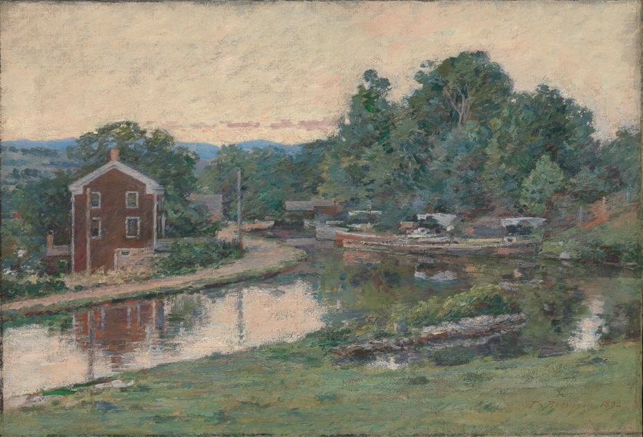 Evening at the Lock, Napanoch, New York