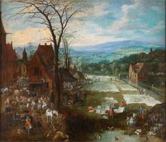 Flemish Market and Washing Place