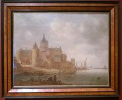 Fort Lillo on the Scheldt