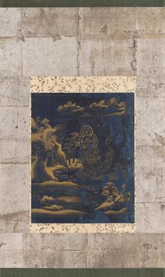 Frontispiece Painting of the Sutra of Meditation on Samantabhadra from the Threefold Lotus Sutra, Chusonji Version