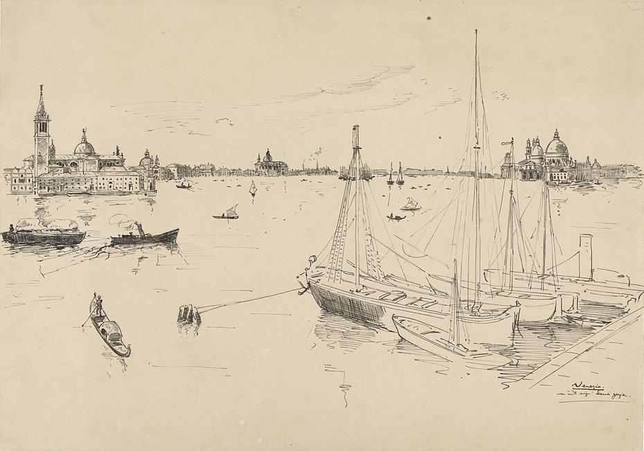 Gezicht te Venetië