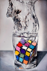 Giant Rubik Splash