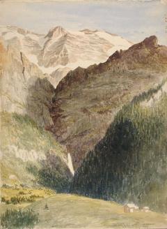 Glacier and Falls