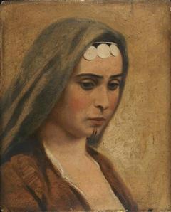 Head of an Arab Girl