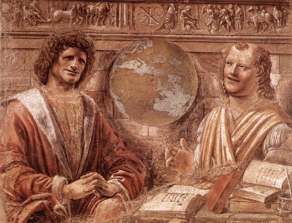 Heráclito y Demócrito