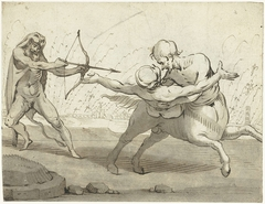 Hercules, Deianeira en de centaur Nessos
