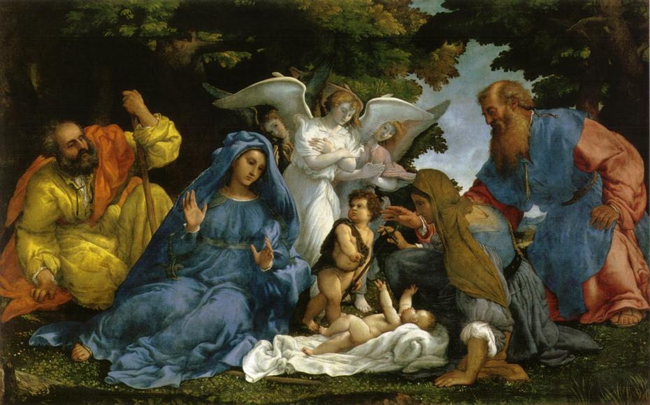 Holy Family with St. John the Baptist