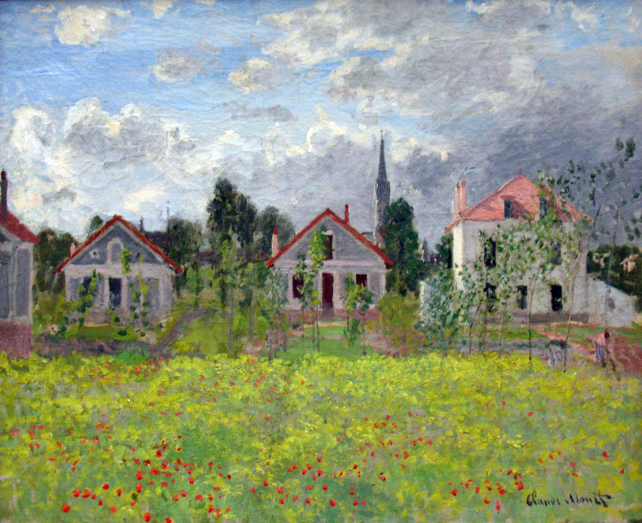 Houses at Argenteuil