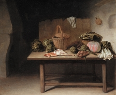 Interior with a Still Life on a Work Table