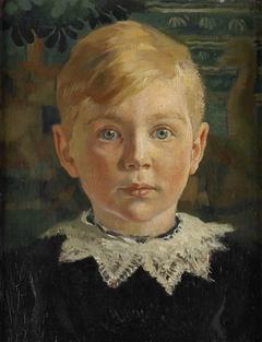 Jeugdportret van Joseph Luns