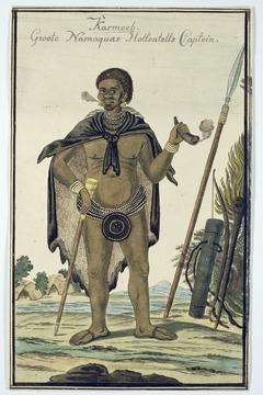 Karmoeb, kapitein van de Grote Namaquas der Khoi