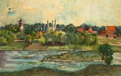 Kaunas, Neris river.