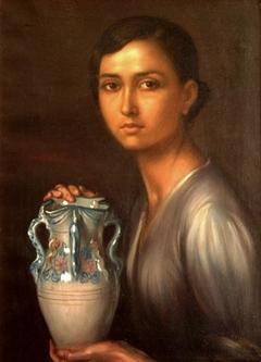 La niña de la jarra