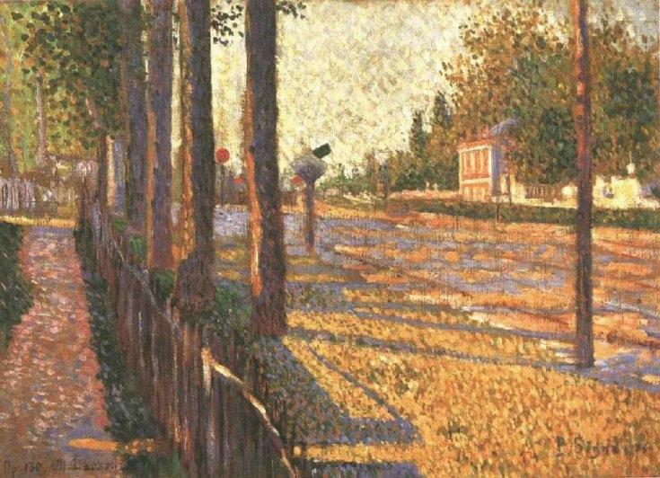 La route de Pontoise