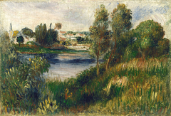 Landscape at Vetheuil