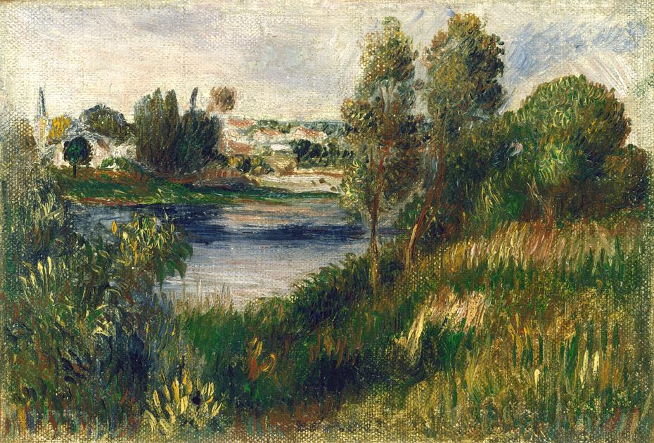 Landscape at Vetheuil