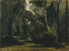 Landscape in the Forest at Compiègne
