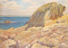 Landscape: The Rock before the Sea