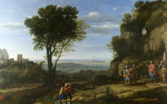 Landscape with David at the Cave of Adullam