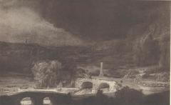 Landscape with Two Bridges