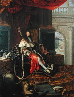 Louis XIV protecteur de l'Académie