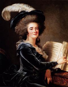Madame de Selve faisant de la musique