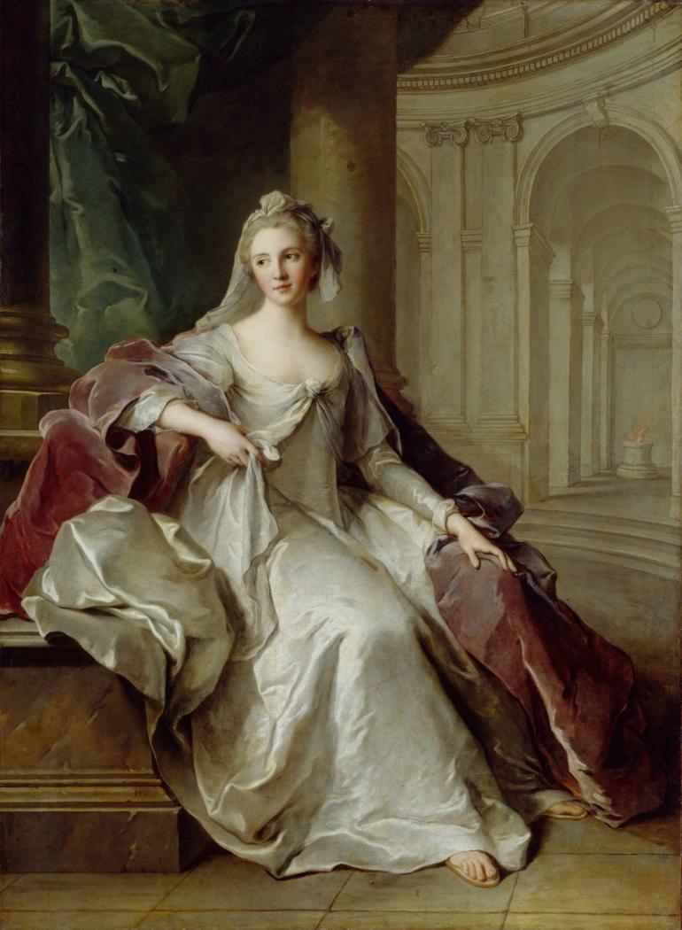 Madame Henriette de France as a Vestal Virgin