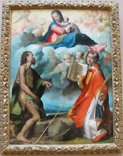 Madonna in Glory with Sts. John the Baptist and Stephan