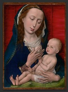 Madonna lactans