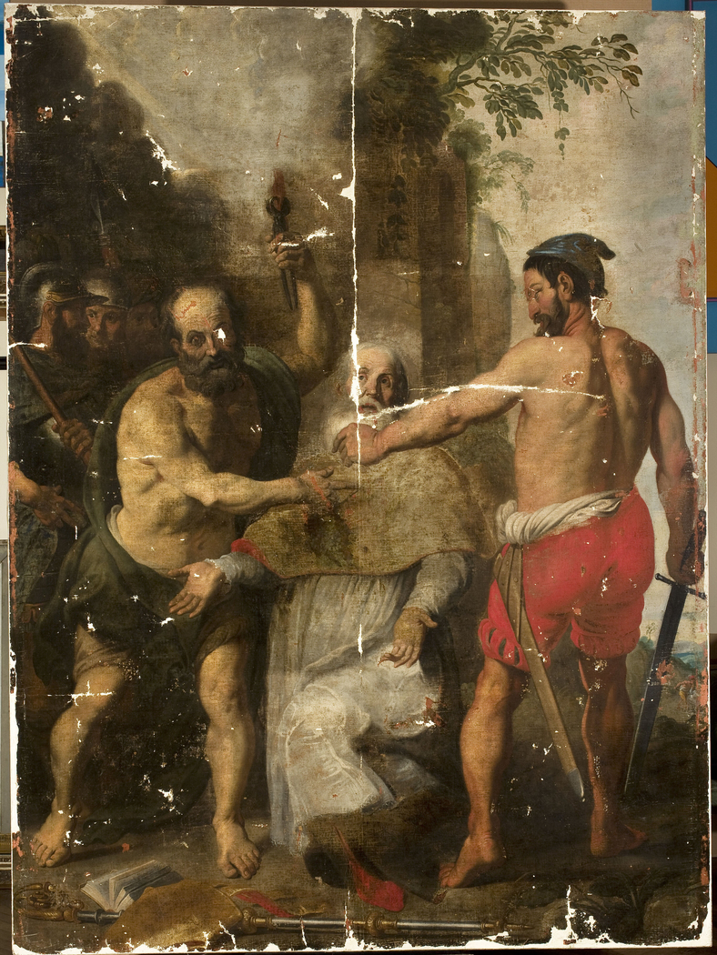Martyrdom of St. Livinus (without the frame)