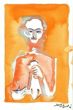 Musician with lyra