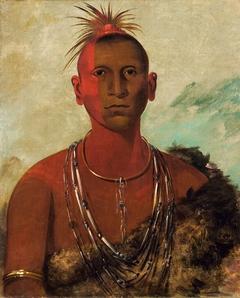 Náh-se-ús-kuk, Whirling Thunder, Eldest Son of Black Hawk