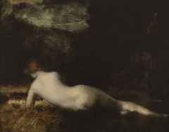 Nymphe couchée