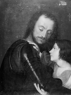 Page Dressing a Knight in his Amour