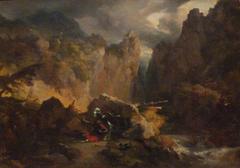 Paysage avec la mort de Roland