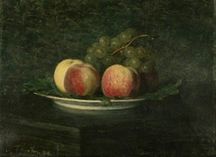 Peaches and Grapes