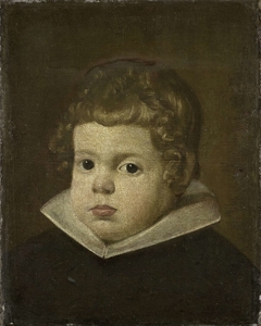 Portrait of a Boy about three years old, possibly Prince Balthasar Carlos, Son of the Spanish King Philip IV