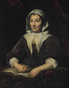 Portrait of a lady, aged 68