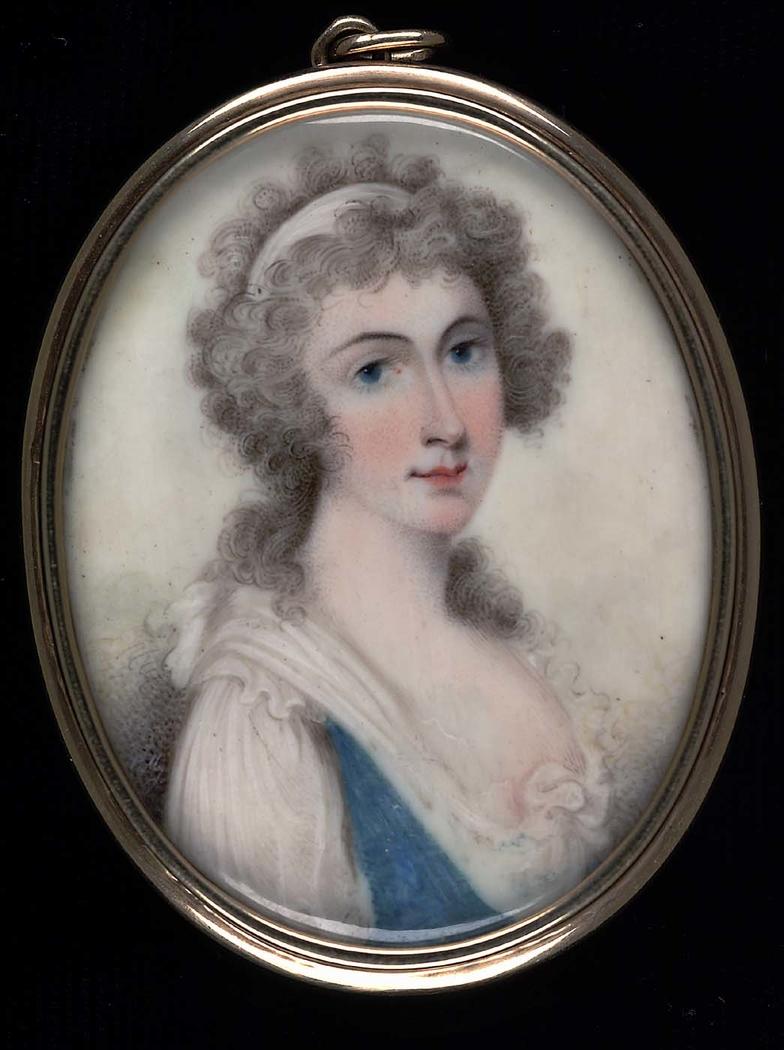 Portrait of a Lady from S. Carolina Huguenot Family