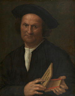 Portrait of a Man with a Puzzle