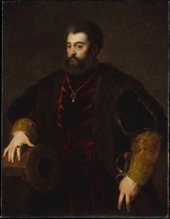 Portrait of Alfonso I d'Este